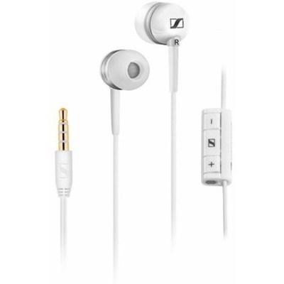 Sennheiser MM 30i Kulak İçi Kulaklık - Beyaz - Apple Uyumlu