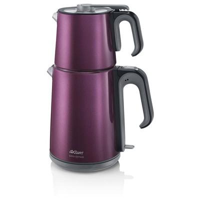 Arzum AR3032 Çaycı Heptaze Çay Makinesi - Mürdüm