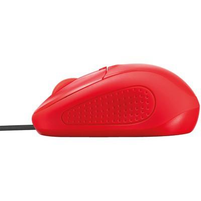 Trust Primo Kablolu Mouse - Kırmızı (21793)