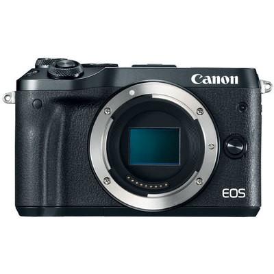 Canon D.CAMERA EOS M6 BK BODY Fotoğraf Makinesi