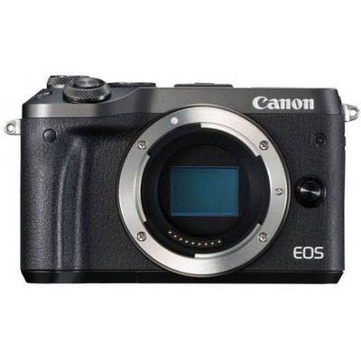 Canon D.cam Eos M6 Bk M15-45 S +m55-200 S Fotoğraf Makinesi