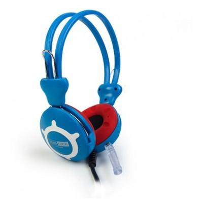 Redrock HP668B Mikrofonlu Kulaklık Mavi-Kırmızı Kafa Bantlı Kulaklık