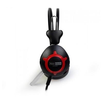 Redrock Hp668r Mikrofonlu Kulaklık Siyah-kırmızı Kafa Bantlı Kulaklık