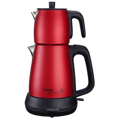 Tefal Tea Expert Çelik Demlikli Çay Makinesi - Kırmızı
