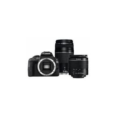 Canon Eos 1300d 18-55+75-300 Slr Fotoğraf Makinesi