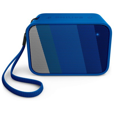 Philips  Bt110a Bt110a/00 Taşınabilir Kablosuz Bluetooth Hoparlör Mavi