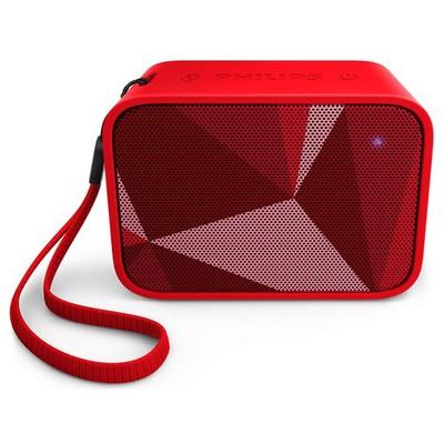 Philips Bt110r Bt110r/00 Taşınabilir Kablosuz  Kırmızı Bluetooth Hoparlör