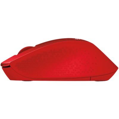 Logitech M330 Silent Plus Mouse - Krımızı (910-004911)