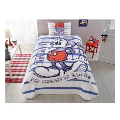 Taç Disney Mickey Mouse Sailor Pike Takımı Ev Tekstili