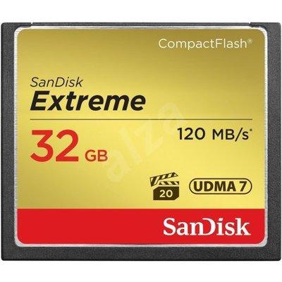 SanDisk 32 GB CF KART 120Mb-s EXT SDCFXSB-032G-G46