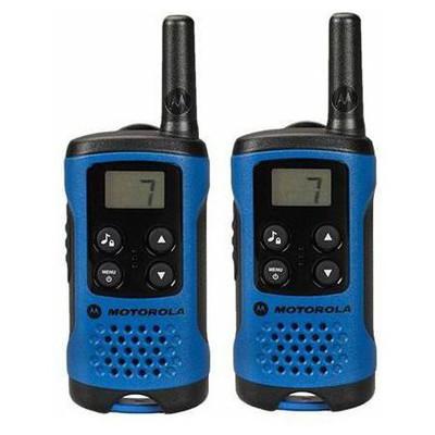 Motorola  TLKR-T41MAVI TLKR-T41 El Telsizi (PMR) ikili Set Mavi