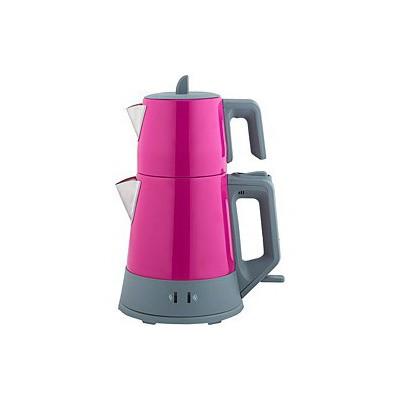 Arnica Demli Stil Çay Makinesi - Fuşya