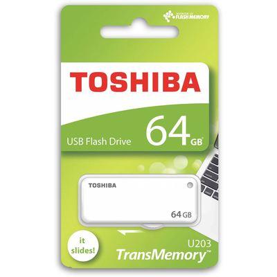 Toshiba 64GB Yamabiko Usb2.0 Beyaz