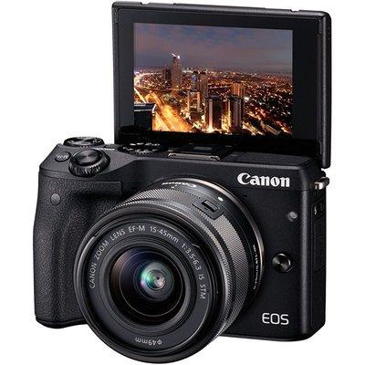 Canon D.camera Eos M3 Bk 15-45 S Fotoğraf Makinesi