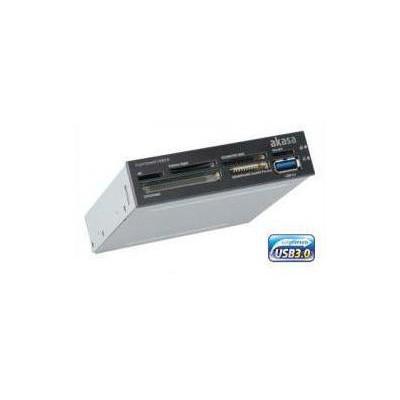 """Akasa (AK-ICR-14), USB3.0, 1xUSB3.0, Ank Bağ. 3.5"""" Panel, Kart Okuyucu"""