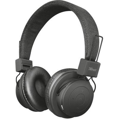Trust 21754 Leva Kablosuz Bluetooth Kulaklık - Siyah Kafa Bantlı Kulaklık