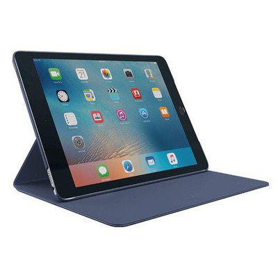 Logitech HINGE Flexible case with any-angle stand for iPad Pro 9.7 - Blue Tablet Kılıfı