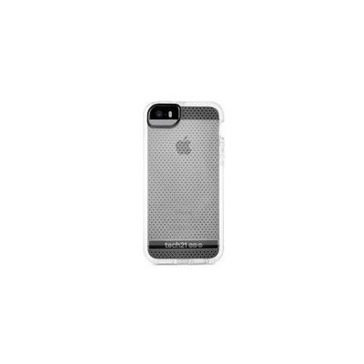 Tech 21 Tech21 Evo Mesh for iPhone 5/5S - Clear/White Tablet Kılıfı