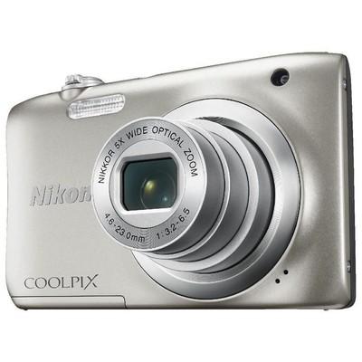 Nikon 18208948581 Coolpix A100 Silver Fotoğraf Makinesi