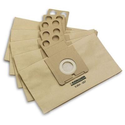 Karcher -rc Serisi 5li Kağıt Toz Torbası Süpürge Aksesuarları