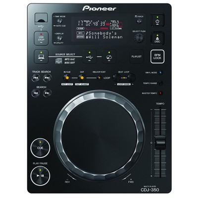 Pioneer DJ Cdj-350 Share Rekordbox-ready Digital Deck Mixer & Controller