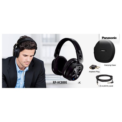 Panasonic Rp-hc 800 Noice Cancelling Kafa Üstü Kulaklık Kafa Bantlı Kulaklık