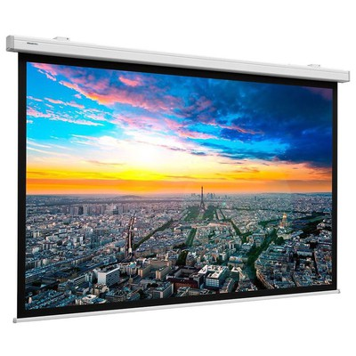 Projecta 10100093 240 Cm X 154 Cm High Quality Electrical Projection Screen Projeksiyon Perdesi