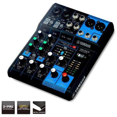 Yamaha Pro MG06X MİXER Mixer & Controller