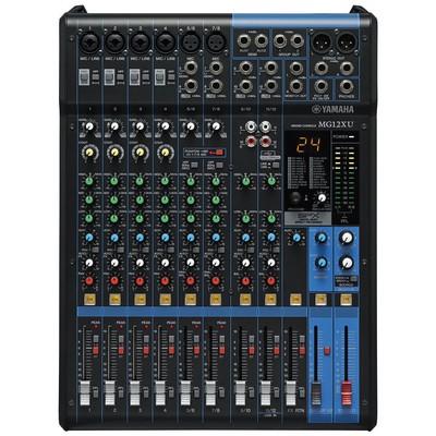 Yamaha Pro Yamaha Mg-12 Xu Analog Mixer HiFi Bileşeni