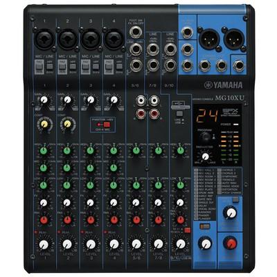 Yamaha Pro Yamaha Mg-10 Xu Analog Mixer Mixer & Controller