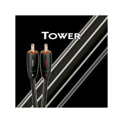 Audioquest Tower Rca Audio Kablo 1mt Ses Sistemi Aksesuarı
