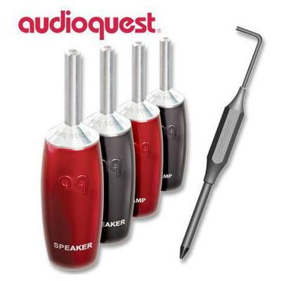 Audioquest 1000 Series Banana Plug Ses Sistemi Aksesuarı