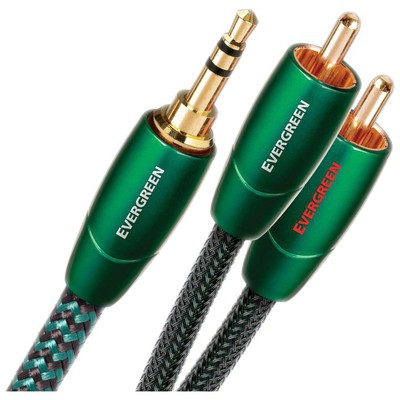 Audioquest Evergreen Rca-3,5mm Audio Kablo 1mt Ses Sistemi Aksesuarı