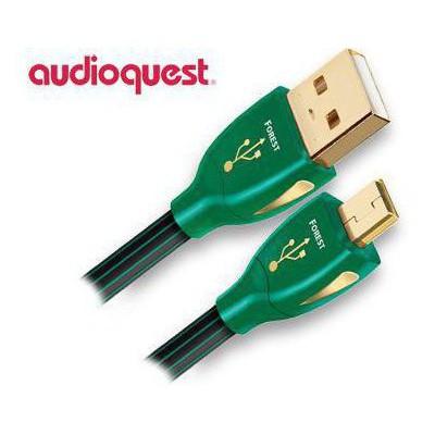 Audioquest Forest USB-MİNİ Kablo 3mt Ses Sistemi Aksesuarı