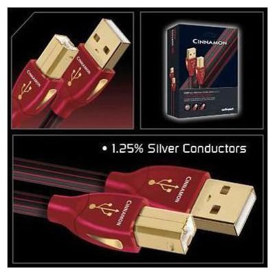 Audioquest Cinnamon USB 2.0 Kablo 1,5mt Ses Sistemi Aksesuarı