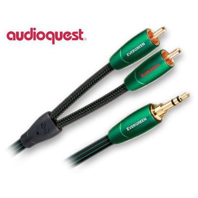 Audioquest Evergreen Rca-3,5mm Audio Kablo 3mt Ses Sistemi Aksesuarı