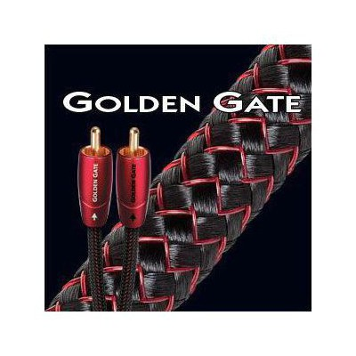 Audioquest Golden Gate Rca Audio Kablo 1mt Ses Sistemi Aksesuarı