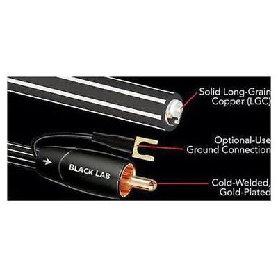 Audioquest Black Lab 8mt Subwoofer Kablo Ses Sistemi Aksesuarı