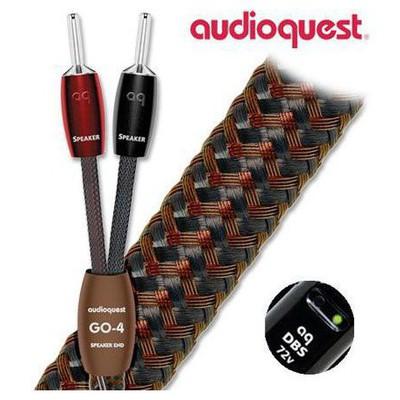Audioquest Go 4 Bfas Banana Hoparlör Kablosu 3mt Ses Sistemi Aksesuarı