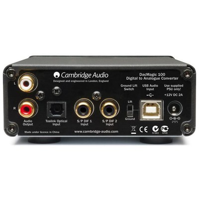 Cambridge Audio Dac Magic 100 Digital Analog Convertor DAC
