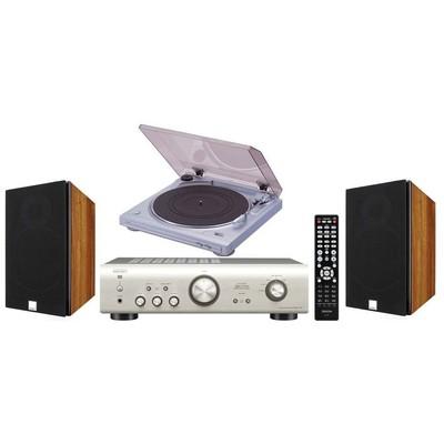 Denon Plak Çalar Müzik Sistemi Müzik Seti