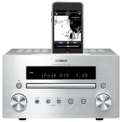 Yamaha Crx 550 Micro Cd-receiver Silver Network Müzik Sistemi