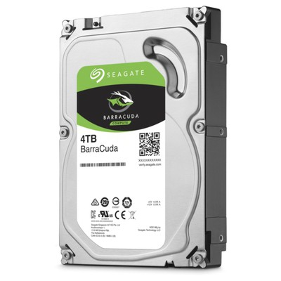 Seagate  BarraCuda 4TB Hard Disk (ST4000DM004)