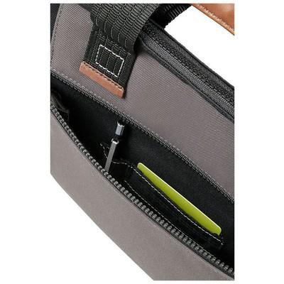 """Samsonite 22N-19-002 22N-19-002 13.3"""" Sideways Sleeve Notebook Çantası Siyah-Gri"""