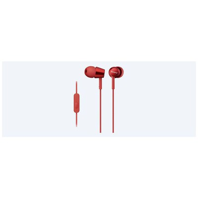 Sony Ex110apr-kırmızı Mikrofonlu Kulakiçi Kulaklık Kulak İçi Kulaklık