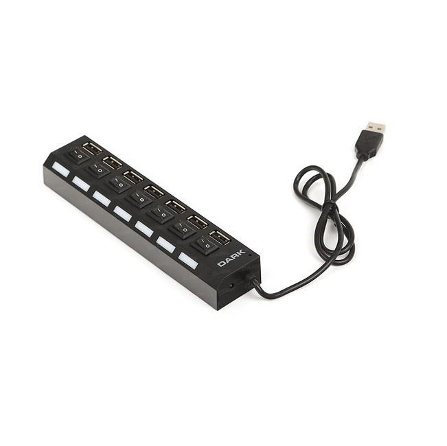 Dark DK-AC-USB272 7 PORT USB2.0 Connect Master U72, USB Hub () Çoklayıcı