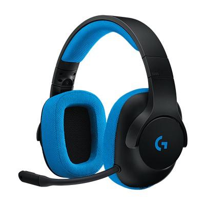 Logitech G233 Kablolu Gamıng Headset Black/cyan 981-000703 Kafa Bantlı Kulaklık