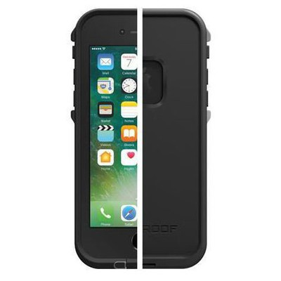 Lifeproof 77-53981 Lifeproof Fre Apple Iphone 7 Kılıf Asphalt Black Cep Telefonu Kılıfı
