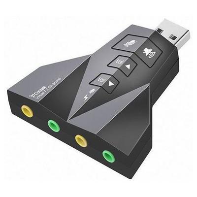 Hytech  HY-U710 USB 2.0 7.1 Dual Channel Ses Kartı