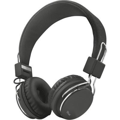 Trust Ziva Mikrofonlu Kulaklık-siyah